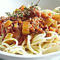 Spaghetti ragu'alla bolognese de Loloche