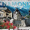 Chamonix - statue du Dr Paccard