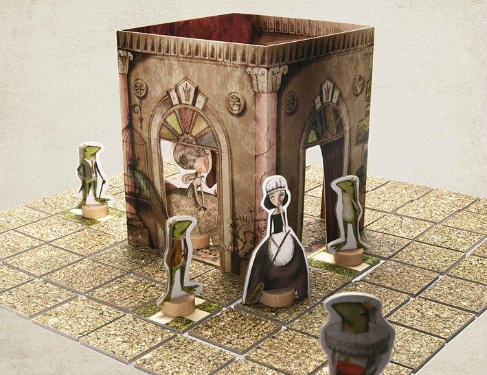 Boutique jeux de société - Pontivy - morbihan - ludis factory - Frog Pronce Board