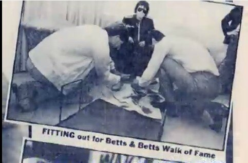 betts & betts xalk of fame