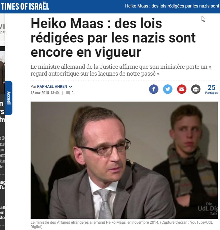 2020-01-27 19_59_02-» Heiko Maas _ des lois rédigées par les nazis sont encore en vigueur - Opera