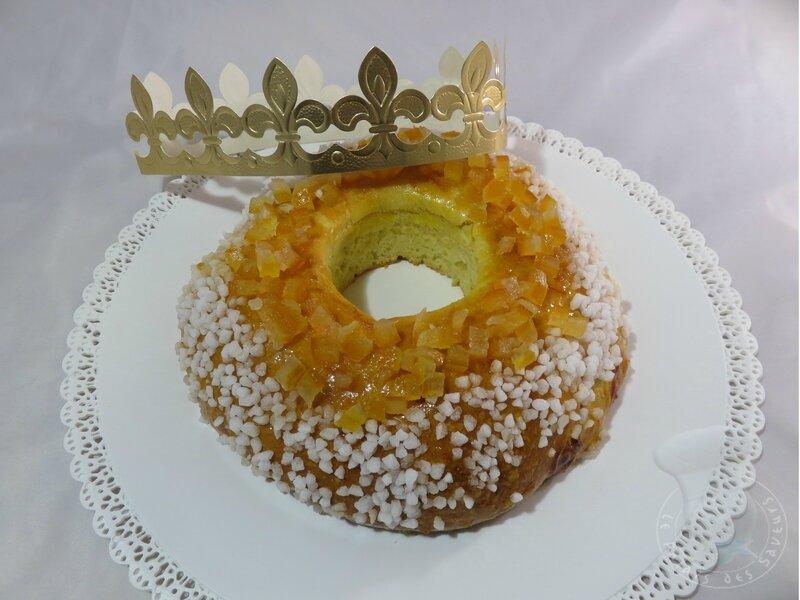 Gâteau des rois à l'orange