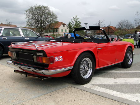 TRIUMPH TR6 Roadster 1969 1976 Bourse Echanges Autos Motos de Chatenois 2010 3