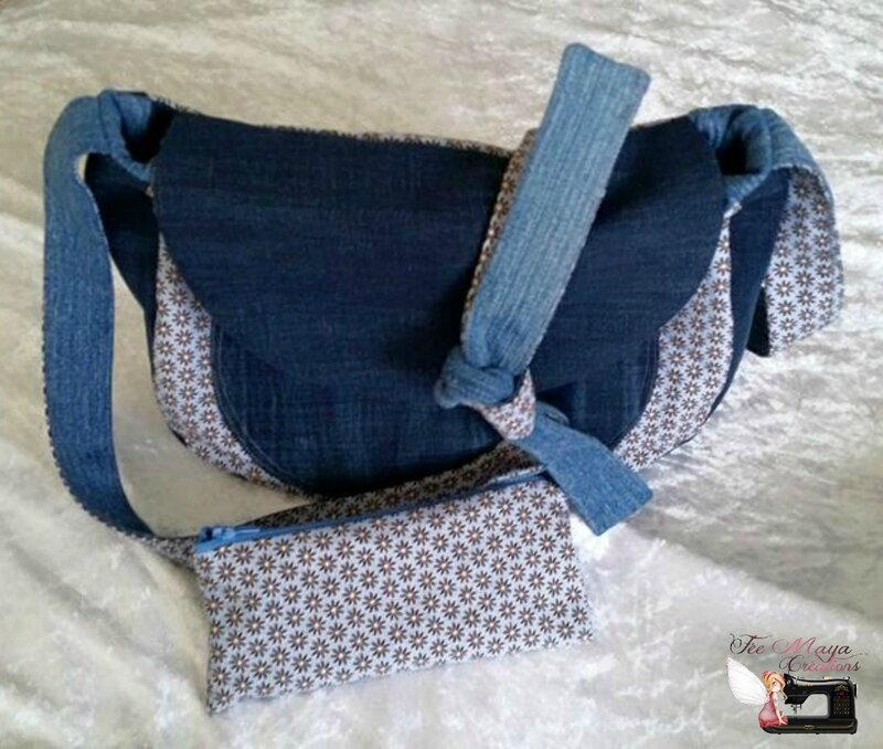 Sac Besace Jeans (2)