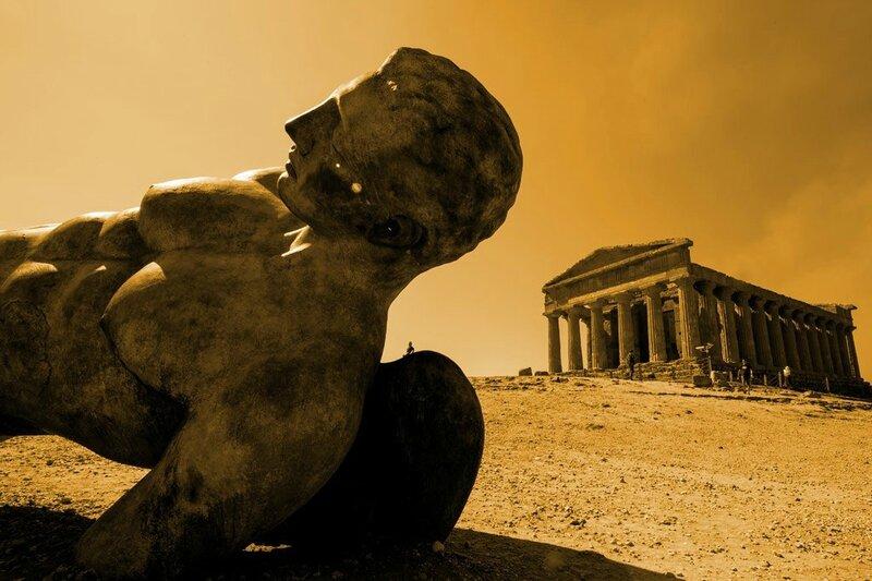 Parthenon déglingué