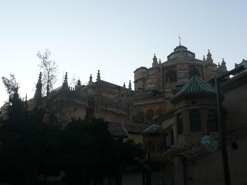 Grenade, la cathédrale
