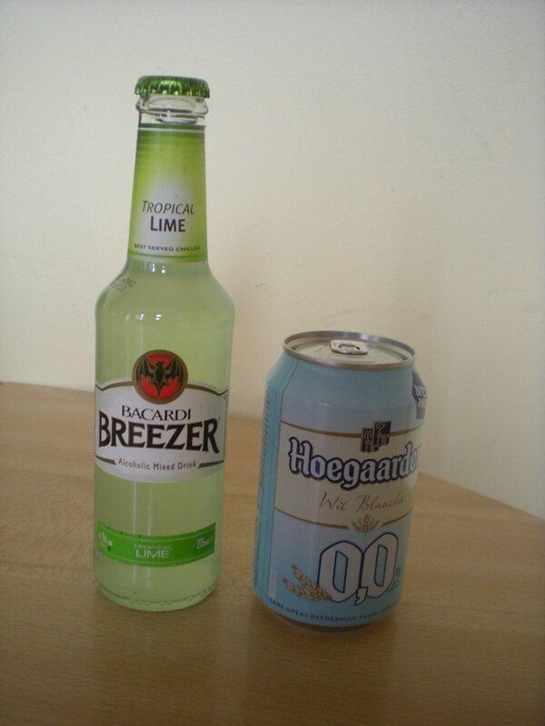 cocktail Bacardi Biere blanche