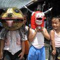 Deguisements (Borobudur, Java)