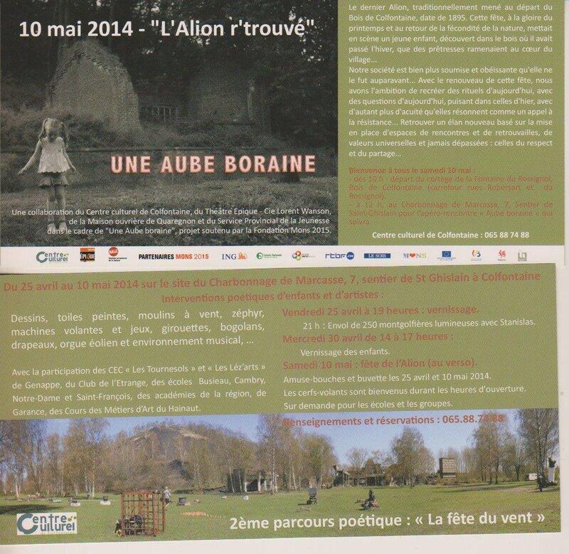 Aube Boraine - l'Alion retrouvé