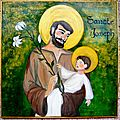 Saint Joseph et l'Enfant Jésus Chapelle du 1er Spahis Sophie Gendrot 2012