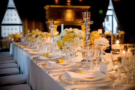 Elegant-Yellow-White-Tablescape