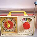 Boite à musique Fisher Price vintage