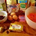 Halloween : gâteau aux carottes...