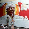 Street art au mur urbain reactif jusqu'au samedi 28 juillet 2012