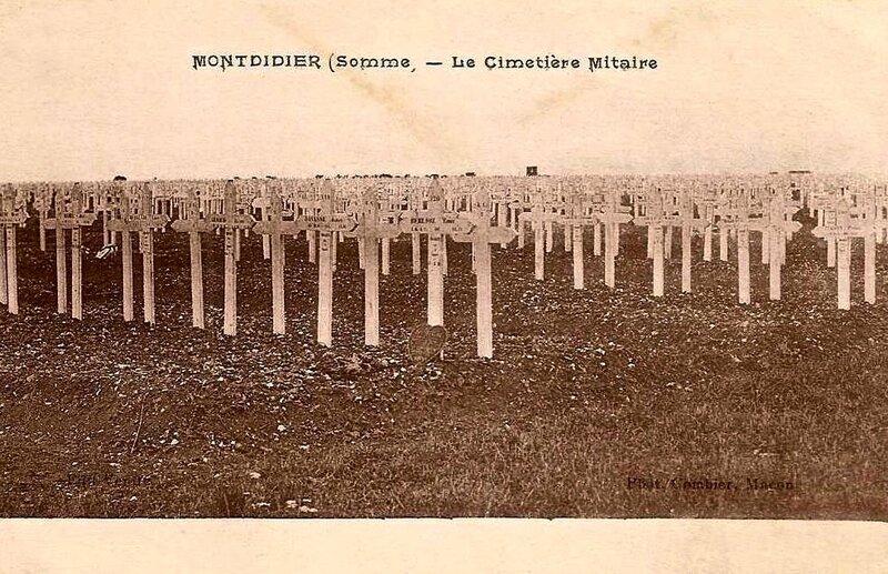 Montdidier cimetière militaire