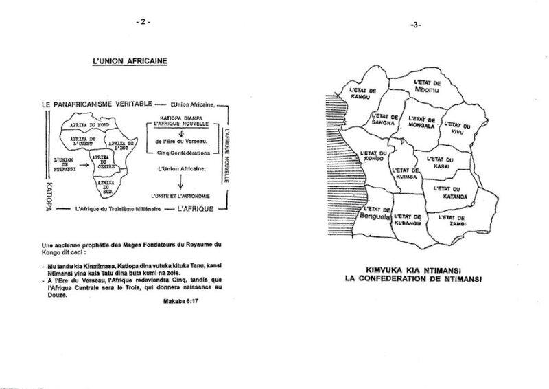 DANS L'INITIATION KONGO QU'APPELLE T-ON UN WALESA b