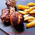 Poulet sauce barbecue