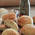 Petits pains aux herbes de provence et parmesan