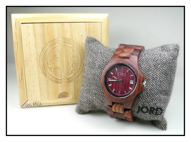 Jord Wood Watch Sois Polish