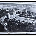 Expostion internationale 1937 - Palais du Trocadéro et les bassins (datée 1937)