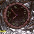 gâteau pendule