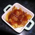 Ramequin aux pommes a la creme de salidou