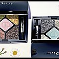 Palette fards paupières - glowing gardens - dior - + video