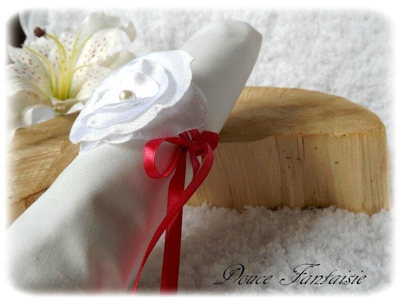 Rond de serviette mariage baptême communion