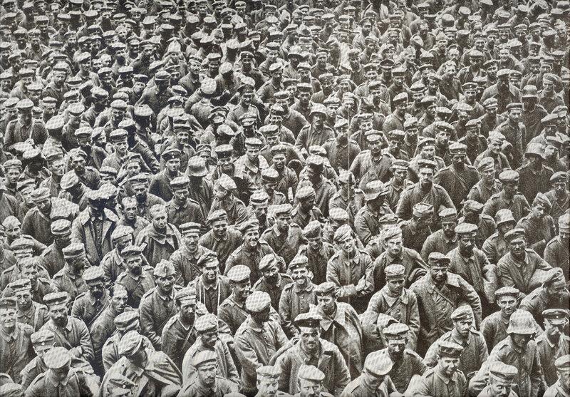 1918 08 21 prisonniers allemands Illustration 7 sept