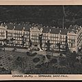 Cannes séminaire saint-paul carte postale