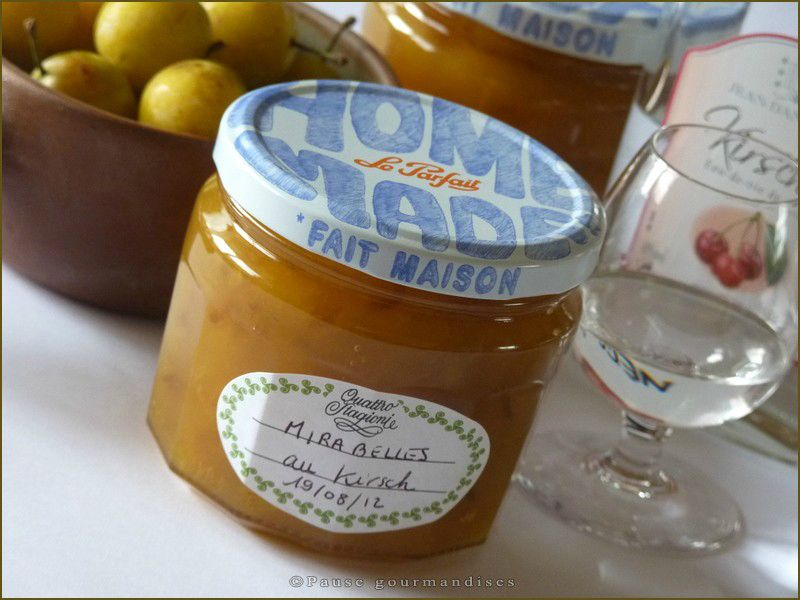 confiture thermomix mirabelle