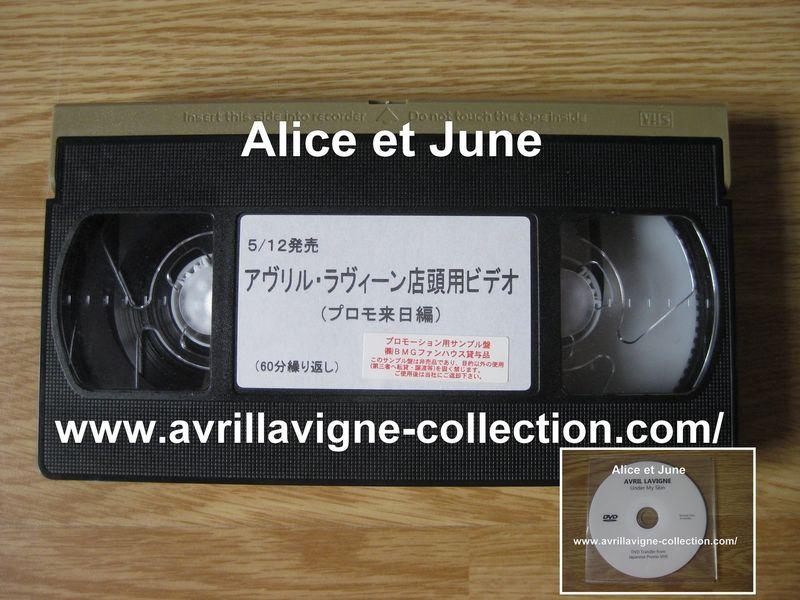 Cassette vidéo VHS promotionnelle-BMG JAPAN (2004)