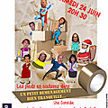 Comédie théâtrale le 24 juin 2017