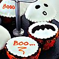 { ghost cupcakes }