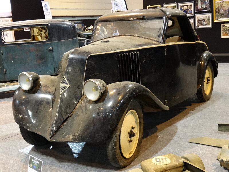 RENAULT type NN 1926 carrossé en coupé en 1938 Strasbourg (1)