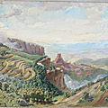 Paysage R Derrat 1930 av restauration