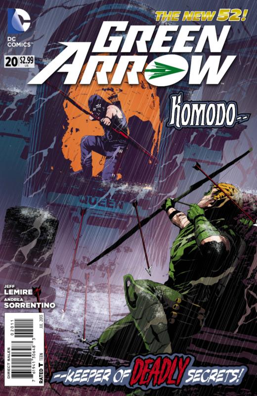 new 52 green arrow 20