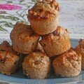 Mini muffins raisins cannelle