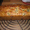Cake jambon et olives de michel oliver
