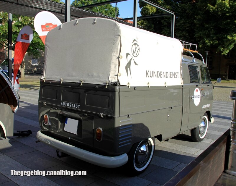 Vw combi double cabine pick-up de 1963 (Paul Pietsch Classic 2014) 02