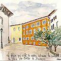 Brignoles place des comtes de Provence