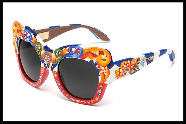 e086a1f8548228 Sicilian Carretto - One of Kind - Lunettes Solaires - Dolce ...