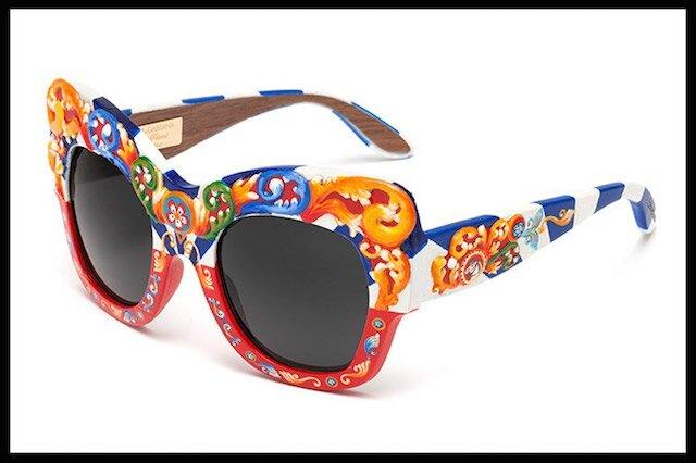 dolce & gabbana sicilian carretto lunettes solaires 2