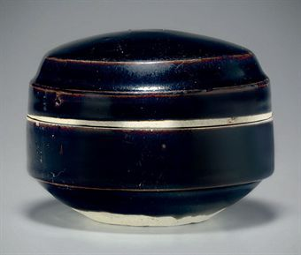 a_brownish_black_glazed_cizhou_type_box_and_cover_11th_12th_century_d5347991h