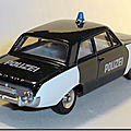 Dinky Atlas Ford Taunus 17M Polizei A 3