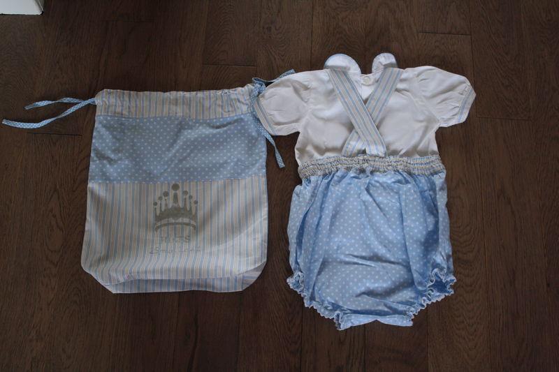 bloomer pour petit garçon et chemise, 45€