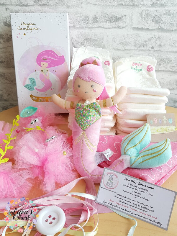 diaper cake mermaid francoise vermorel 18