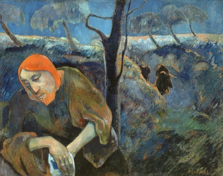 Christ in the Garden of Olives, 1889