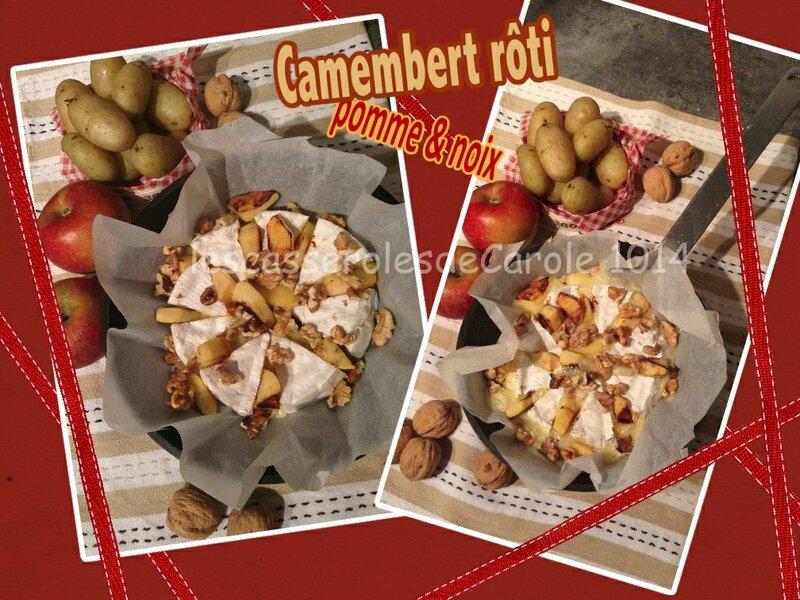 camembert roti pomme noix (SCRAP)