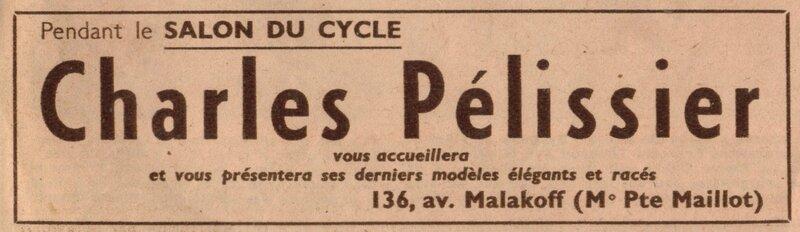 charles pelissier MP 1949